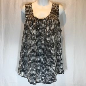 Halogen Sleeveless Silk/Spandex XL Career Blouse